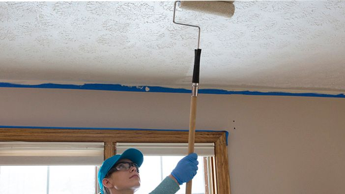 Paint and Trim Your Ceiling